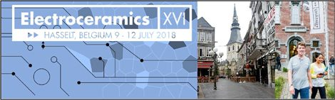 EOSMAD present at Electroceramics XVI