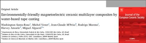 Paper published in J. Eur. Ceram. Soc.
