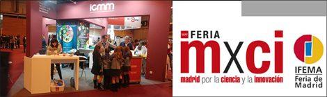 Members of EOSMAD at Madrid Science Fair