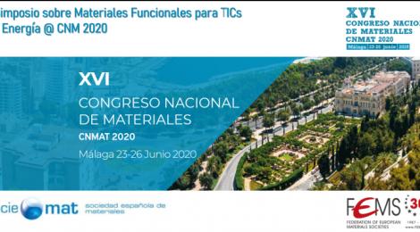 Symposium Functional Materials: 27-30 June 2021