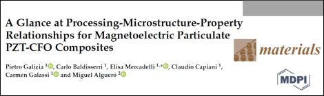 New publication on magnetoelectric composites