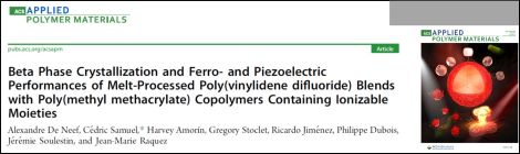Study on piezoelectric polymer films recently published