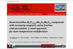 Electroceramics-XVII-Algueró-Talk
